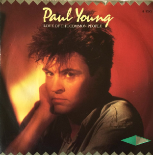 "Paul Young ‎- Love Of The Common People (7"") (VG-/VG-)"